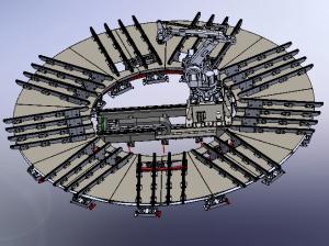 carousel conveyor karosel konveyör